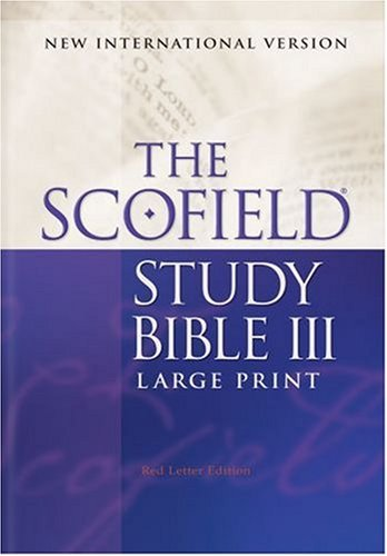 9780195280227: Scofield® Study Bible III, Large Print, NIV