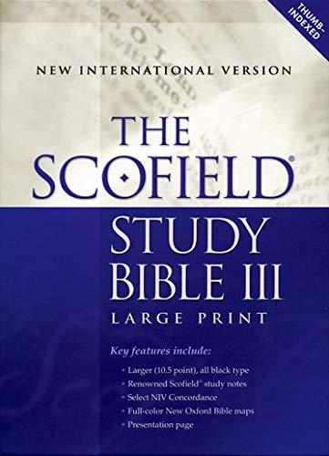 The Scofield® Study Bible III, Large Print,