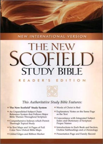 The NIV Scofield® Study Bible, Special Reader's Edition: New International Version