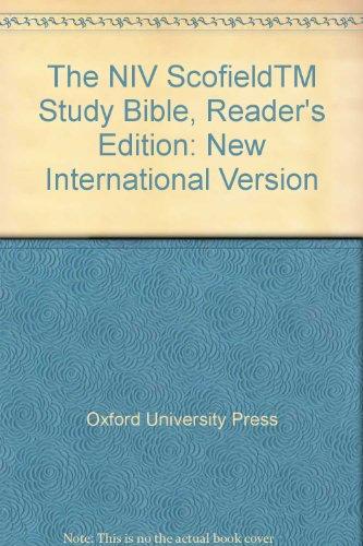 9780195281606: The NIV ScofieldTM Study Bible, Reader's Edition: New International Version