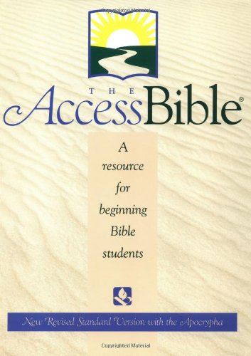 9780195282177: The Access Bible, New Revised Standard Version with Apocrypha (Paperback 9872A)