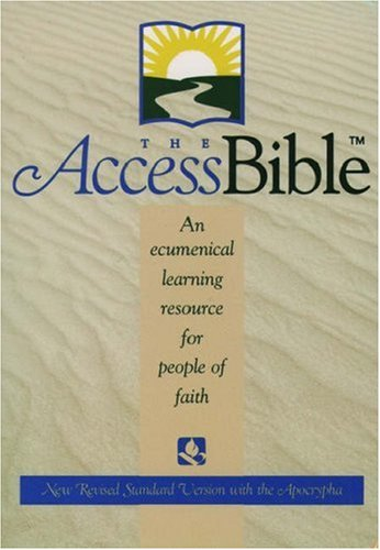 9780195282191: The Access Bible, New Revised Standard Version with Apocrypha (Hardcover 9870A)