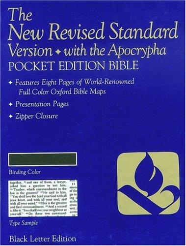 9780195282207: Pocket Bible-NRSV (White Berkshire Leather)