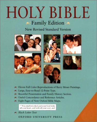9780195282252: The Holly Bible: NRSV Family Edition (Berkshire Black Leather)