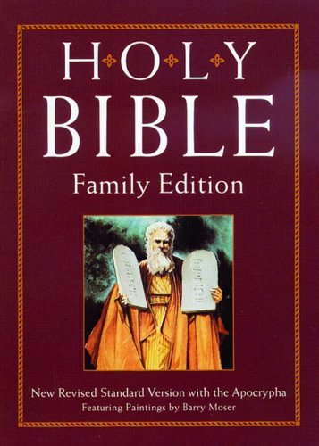 The Holy Bible (NRSV with Apocrypha, Family: Illustrator-Barry Moser