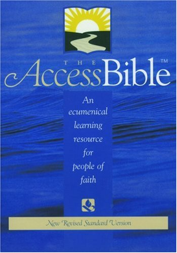 9780195282566: The Access Bible, New Revised Standard Version (Bonded Leather Burgundy 9871)