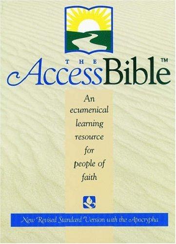 9780195282580: Nrsv Bible Burg Access W/Apoc 9871a