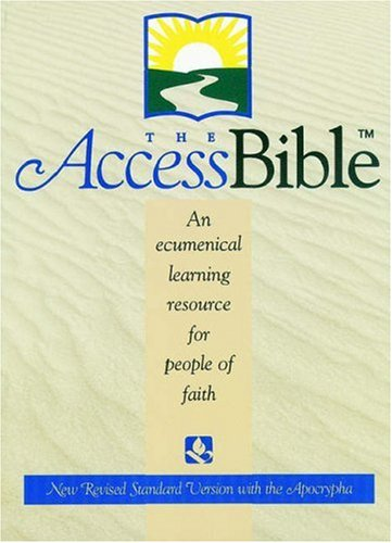 9780195282580: The Access Bible, New Revised Standard Version with Apocrypha (Bonded Leather Burgundy 9871A)