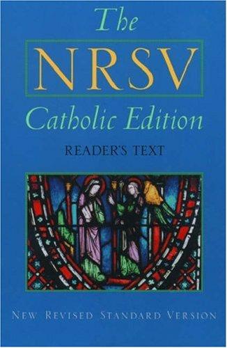 9780195282665: Nrsv Catholic Edition Economy Edition