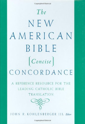 9780195282764: The New American Bible Concise Concordance