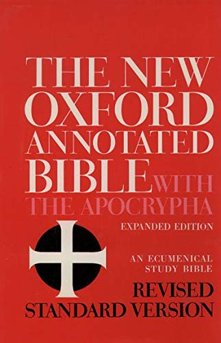 9780195283488: New Oxford Annotated Bible-RSV: Revised Standard Version, Containing the Second Edition of the New Testament and an Expanded Edition of the Apocrypha