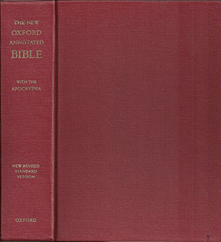 New Oxford Annotated NRSV Bible with the Apocrypha (College Edition)
