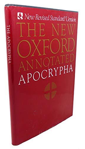 9780195283686: Apocrypha: New Revised Standard Version New Oxford Apocrypha