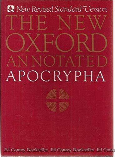 9780195283686: The New Oxford Annotated Apocrypha, New Revised Standard Version
