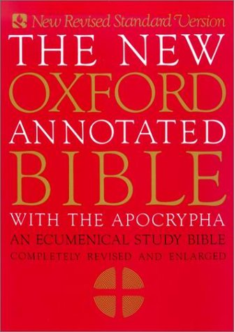 9780195283822: The New Oxford Annotated Bible With the Apocrypha: An Ecumenical Study Bible/Completely Revised and Enlarged/Indexed/9900A