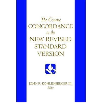 9780195283877: Concise Concordance to the New Revised Standard Version