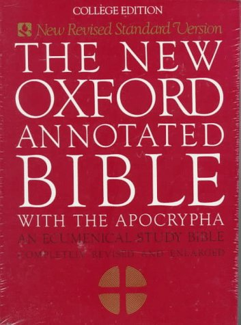 9780195284119: The New Oxford Annotated Bible With the Apocrypha: New Revised Standard Version College Edition