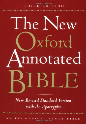 9780195284782: The New Oxford Annotated Bible, New Revised Standard Version with the Apocrypha, Third Edition (Hardcover 9700A)