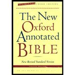 9780195284812: The New Oxford Annotated Bible