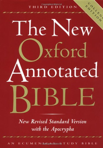 9780195284850: The New Oxford Annotated Bible with the Apocrypha, Third Edition, New Revised Standard Version