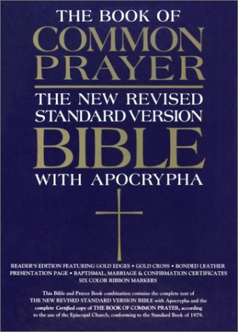 9780195284898: The 1979 Book of Common Prayer and the New Revised Standard Version Bible with the Apocrypha