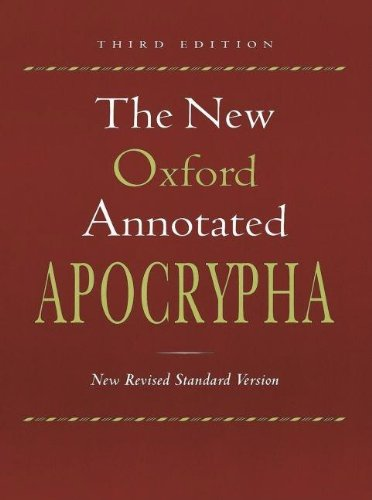 9780195284911: The New Oxford Annotated Bible, New Revised Standard Version, Third Edition (Genuine Leather Burgundy Indexed 9714)