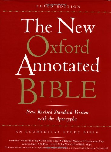 9780195284935: The New Oxford Annotated Bible with the Apocrypha, Third Edition, New Revised Standard Version