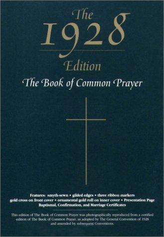 9780195285109: The 1928 Book of Common Prayer