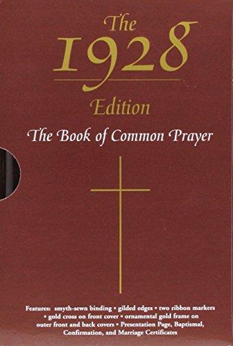 9780195285253: The 1928 Book of Common Prayer