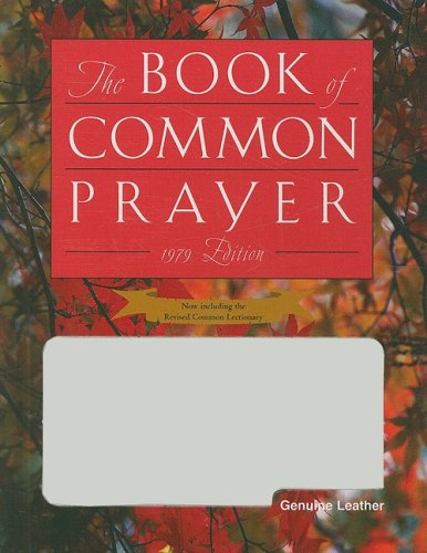 1979 Book of Common Prayer, Personal Edition Genuine White Leather