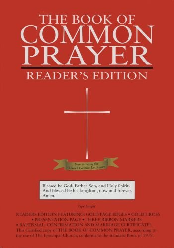 9780195287943: 1979 Book of Common Prayer, Reader's Edition, Burgundy Genuine Leather