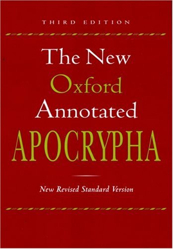 9780195288001: The New Oxford Annotated Apocrypha, New Revised Standard Version, Third Edition (Hardcover 9710)