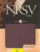 9780195288261: The New Revised Standard Version Bible: Pocket Edition[Burgundy Leather]