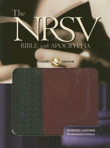 9780195288308: The New Revised Standard Version Bible with Apocrypha: Pocket Edition