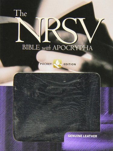 9780195288315: The New Revised Standard Version Bible with Apocrypha: Pocket Edition, Genuine Leather Black