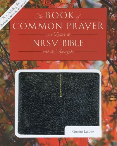 1979 Book of Common Prayer and the New Revised Standard Version Bible with Apocrypha: Oxford ...