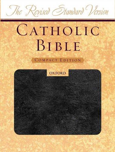 9780195288513: The Revised Standard Version Catholic Bible