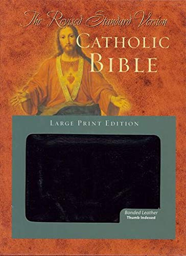 9780195288728: Revised Standard Version Catholic Bible Large Print Edition