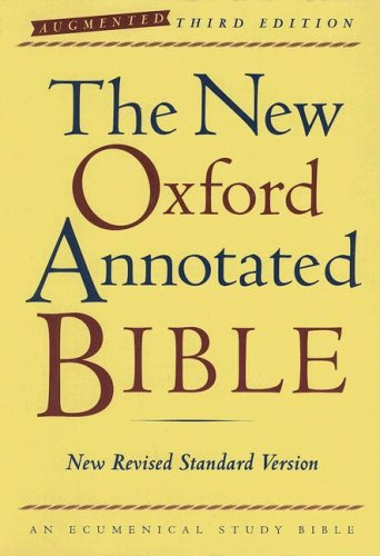 9780195288766: The New Oxford Annotated Bible, Augmented Third Edition, New Revised Standard Version