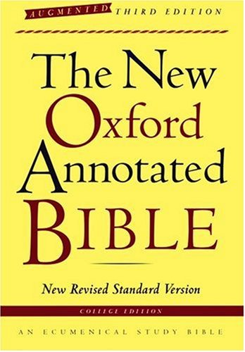 9780195288773: The New Oxford Annotated Bible, Augmented Third Edition, New Revised Standard Version