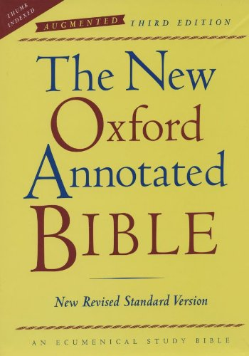 9780195288780: The New Oxford Annotated Bible, Augmented Third Edition, New Revised Standard Version