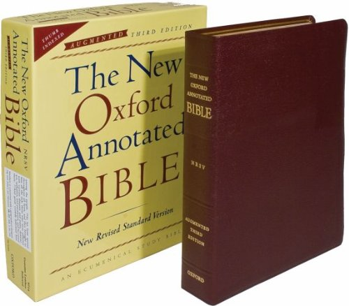 9780195288797: The New Oxford Annotated Bible, Augmented Third Edition, New Revised Standard Version