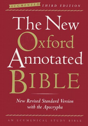 9780195288810: The New Oxford Annotated Bible with the Apocrypha, Augmented Third Edition, New Revised Standard Version, Indexed