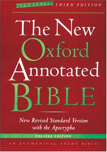The New Oxford Annotated Bible with the: Michael David Coogan