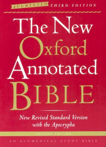 9780195288834: New Oxford Annotated Bible-NRSV-Augmented College
