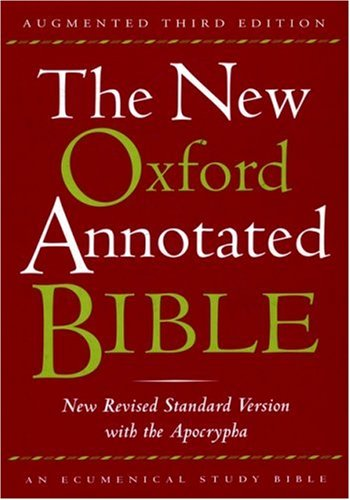 9780195288841: The New Oxford Annotated Bible with the Apocrypha, Augmented Third Edition, New Revised Standard Version, Indexed
