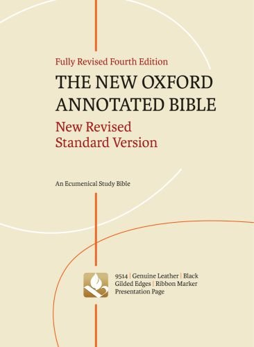 9780195289527: The New Oxford Annotated Bible: New Revised Standard Version