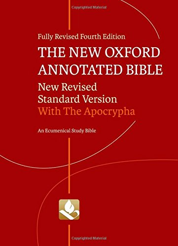 The New Oxford Annotated Bible with Apocrypha: Coogan, Michael D.