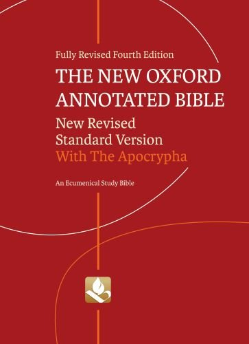 The New Oxford Annotated Bible with Apocrypha: Marc Zvi Brettler;