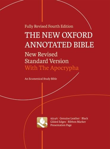 9780195289572: The New Oxford Annotated Bible with Apocrypha: New Revised Standard Version